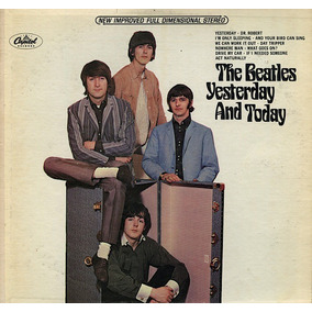 Cd Beatles - The U.s. Albuns Yesterday And Today - Lacrado
