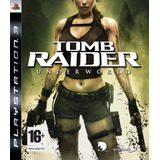 Tomb Raider Underworld, Ps3. Original- Nuevo- Disco Fisico