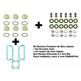 Kit Buchas Fixa Bico Injetor Gm Omega Silverado 4.1 6cil 89/