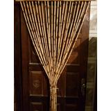 Cortina Porta Bambu Grossa Artesanal 199x210