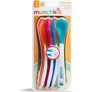 Colher Infantil Termo Sensível Munchkin Com 4 Unidades