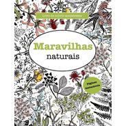 Maravilhas Naturais Desenho Só Frente Páginas Destacáveis