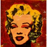 Retrato Marilyn Monroe Del Artista Jorge Calvo