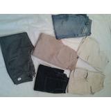 Kit,calças E Bermudas Tm 46 Abercrombie E Fitch E Brinde
