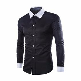 Camisa Social Slim Fit Pront Entrega - 100% Algodão - Várias