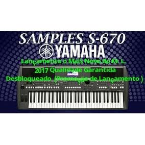 Sample S-670 2017 Lanç. 41 Timbres + De 100 Ritmos Adicionad