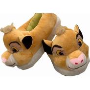 Simba Pantuflas El Rey Leon The Lion King Niño Envio Gratis