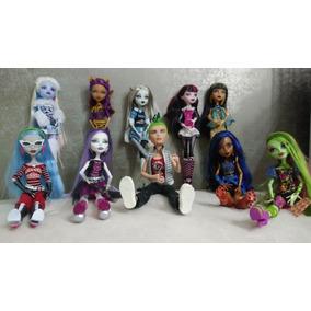 Muñecas Monster High - Colección Única 10 Muñecas