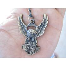 Harley Davidson Precioso Llavero Metalico Harley Motos 0803