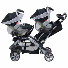 Carriola Gemela Mod Liberty Baby Trend C/portabebes Nueva