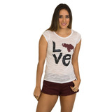 Franela Basica Love Venezuela Saints Clothes