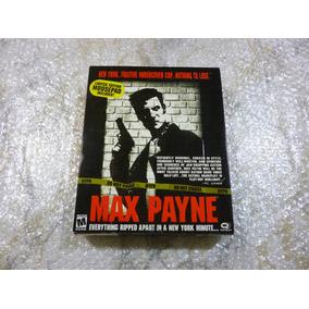 Max Payne 1 Pc Juego Original 2001 Caja Retro Nuevo