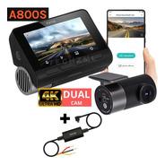 Camera Veicular Automotiva Xiaomi 70mai A800 + Cabo Bateria