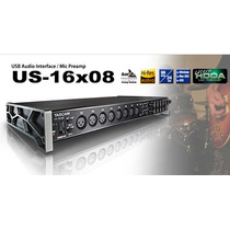 Tascam Us-16x08 Usb Audio Interface Placa De Audio Na Caixa