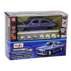 Kit Para Montar Volkswagen 1600 Fastback 1967 Maisto 1:24
