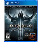 Diablo 3 Ultimate Evil Edition Ps4, Nuevo Y Sellado