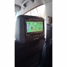 Cabeceira Para Carro Com Monitor Dvd Usb C/nf Novo