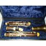 Clarinete Sib Antiga Madeira Revisada, Vintage Estojo Novo