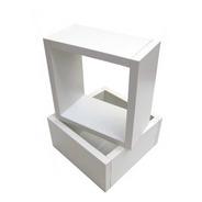 Nicho 30x30x15 Cm Branco ,100%mdf(15mm), Alta Qualidade!!!
