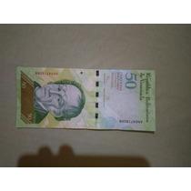 Cedula 50 Bolivares Mbc Frete7$