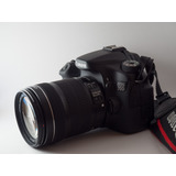 Camara Canon 70d + Lente 18 135mm Stm Caja Y Accesorios