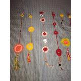 Moviles Y Adornos Tejidos En Crochet. Varios Modelos Y Color