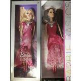 Hermosas Muñecas Barbie Basics Y Look Vestido Largo 30 Cm