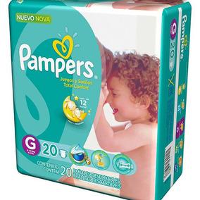 Fralda Pampers Total Confort Tamanho G Com 20 Unidades