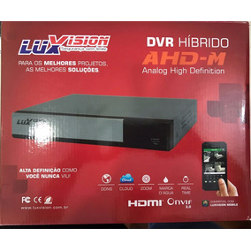 Dvr Stand Alone 16 Canais Ahd-m Luxvision Mod 7016tr-lm