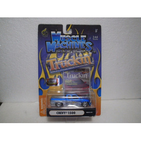 Enigma777 Muscle Machines Truckin Camioneta Chevy 1500 1:64