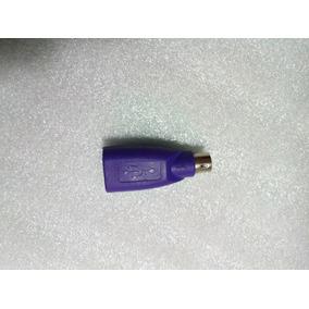Conector Convertidor Ps2 A Usb Para Mouse Y Teclados