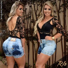 Bermuda Fem Original Rhero Jeans Est Pit Bull 55101