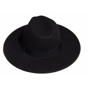 Sombrero De Pana Clasico Color Negro