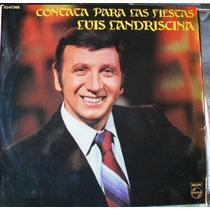 Vinilo L P./ Contata Para Las Fiestas / Luis Landriscina