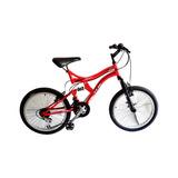Bicicleta Todoterreno Gw Rin 20 Doble Suspension Dione Niño