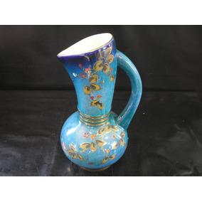 Grande Ânfora Jarra 30 Cm Porcelana Zappi Anos 50 Dt Ouro