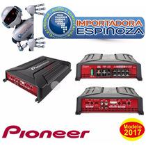 Amplificador Gm A4604 Puenteable De 4 Canales (480w) Nuevo