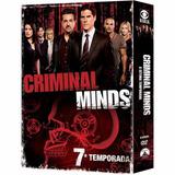 Box Criminal Minds 7ª Temporada Original E Lacrado - 6 Dvds