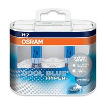 2x Lampadas H7 Osram Cool Blue Hyper Plus Xenon Look 5000k