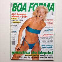 Revista Boa Forma Adriane Galisteu Ano 1998 N°136