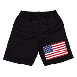 Bermuda Estados Unidos Usa Kings Short Dryfit Exclusivo