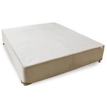 Cama Box Casal Lyon Blanc - 128x188 Casal Antigo