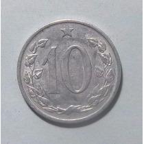 Checoslovaquia 10 Haleru 1962 Muy Bueno Km 49.1 Escudo