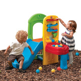Alberca de pelotas con resbaladilla juegos y juguetes en for Resbaladilla para alberca