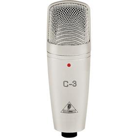 Microfone Condensador Behringer C-3 Loja Oficial Behringer