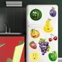 Adesivo Decorativo Geladeira - Frutas 1 P