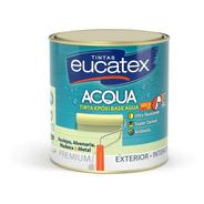 Epóxi Eucatex Azulejos Madeira Metal Alvenaria Branco 900ml