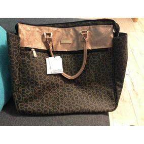 053009c3831bf Bolsa De Mano Calvin Klein Para Hombre - Bolsas y Carteras Marrón en ...