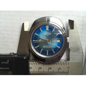 Atiguo Reloj Urbita Suiza Shockproof A Cuerda Funciona