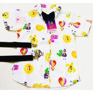 Camisa Temática Infantil Luxo Mundo Bita